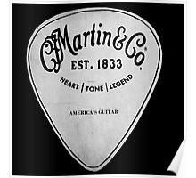 MARTIN GUITAR PIC Poster
