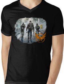 The Division Mens V-Neck T-Shirt