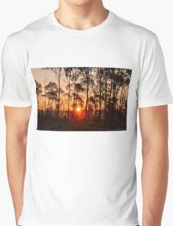 Sunset in Woorabinda Graphic T-Shirt