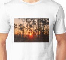 Sunset in Woorabinda Unisex T-Shirt