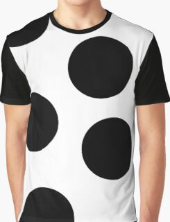 Spots (black and white) Graphic T-Shirt