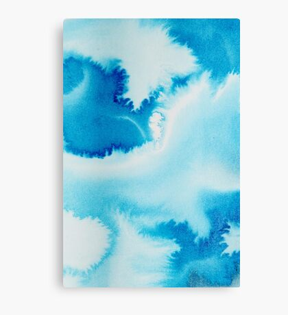 Storm (Abstract Ink) 3 Canvas Print