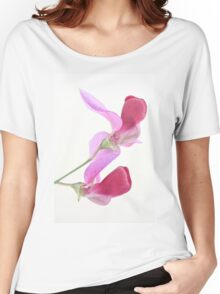 Wild Sweet Pea Women's Relaxed Fit T-Shirt