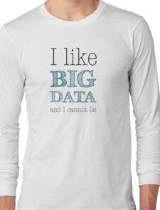 Big Data Long Sleeve T-Shirt