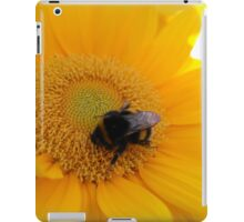 Sunflower Bumblebee 01 iPad Case/Skin