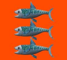 Three Little Fishes Kids Tee