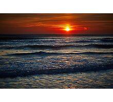 Colorful sunrise over the sea Photographic Print