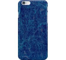 USGS TOPO Map Connecticut CT Gilead 331028 1892 62500 Inverted iPhone Case/Skin