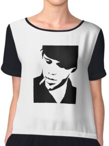 Tom Waits Women's Chiffon Top