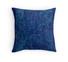 USGS TOPO Map Connecticut CT Gilead 331028 1892 62500 Inverted Throw Pillow