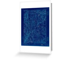 USGS TOPO Map Connecticut CT Gilead 331028 1892 62500 Inverted Greeting Card
