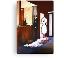 The Hotelier, The Assassin, The Bride Canvas Print