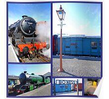 Bo'Ness Steam Railway  Poster