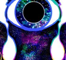 galaxy squid Sticker