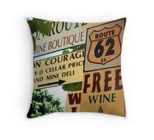 Western Cape Province, S Africa Throw Pillow
