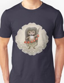 Animal Hedgehog Strawberry Unisex T-Shirt