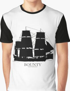 HMS Bounty - Tony Fernandes Nautical Graphic T-Shirt