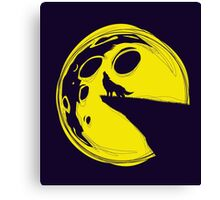 PAC MOON Canvas Print