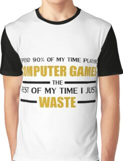 Computer Gaming Graphic T-Shirt