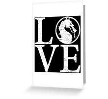 Mortal Love Greeting Card