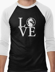 Mortal Love Men's Baseball ¾ T-Shirt