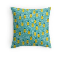 Pineapple Fruity Collection Throw Pillow