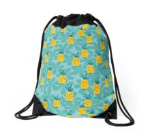 Pineapple Fruity Collection Drawstring Bag