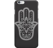 Hamsa Hand,Lotus Flower Eye iPhone Case/Skin