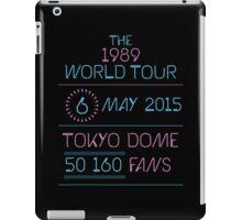 6th May - Tokyo Dome iPad Case/Skin