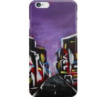 An Empty Street at 3 a.m. iPhone Case/Skin