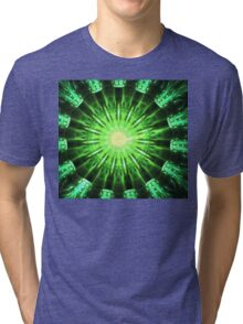 Green Jungle Tri-blend T-Shirt