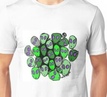 Aliens from another world! Unisex T-Shirt