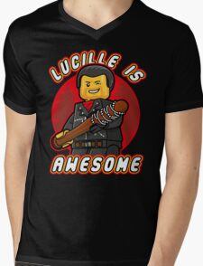 Lucille is Awesome Mens V-Neck T-Shirt