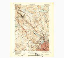 USGS TOPO Map Rhode Island RI Pawtucket 353441 1949 31680 Unisex T-Shirt