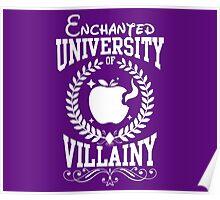 University of Villainy Poster