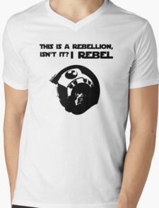 this is a rebellion isn't it? Mens V-Neck T-Shirt