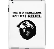 this is a rebellion isn't it? iPad Case/Skin