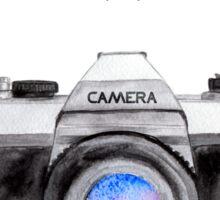 Paris style camera fashion illustrations Sticker