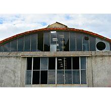Derelict Industrial Building Photographic Print