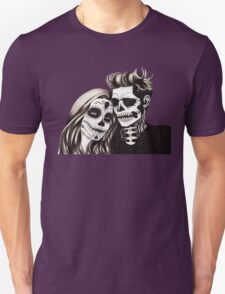Day of the Dead Lovers Unisex T-Shirt