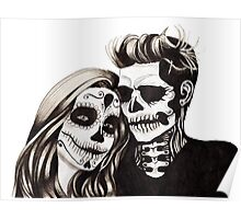 Day of the Dead Lovers Poster