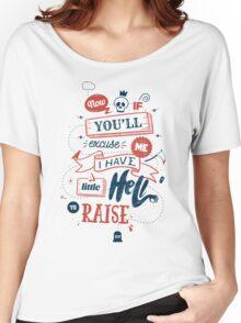 LITTLE HELL Women's Relaxed Fit T-Shirt