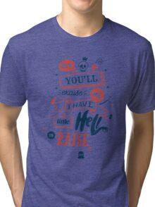 LITTLE HELL Tri-blend T-Shirt