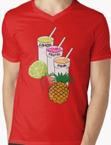 Summer Fruit smoothie Mens V-Neck T-Shirt
