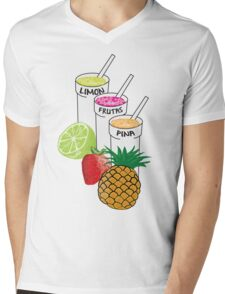 Summer Fruit smoothie Mens V-Neck T-Shirt