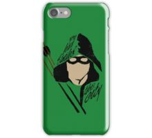 The Green Archer iPhone Case/Skin