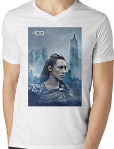 commander lexa Mens V-Neck T-Shirt