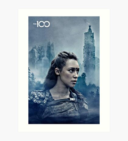 commander lexa Art Print
