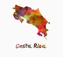 Costa Rica in watercolor Unisex T-Shirt