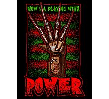 Freddy's Power Glove Photographic Print